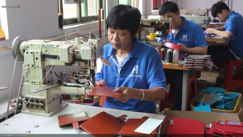 Leather Sewing - The trajectory and way of the leather shape.