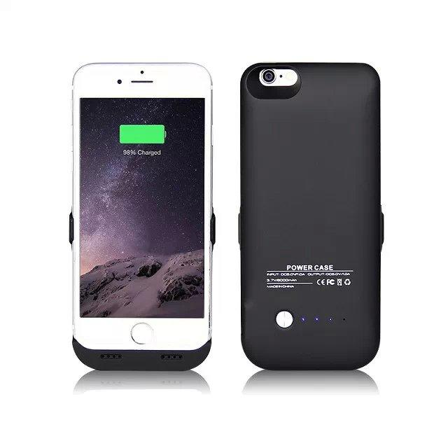 iPhone battery case - Protective Battery Pack Charger Case Backup Power Bank with LED indicator