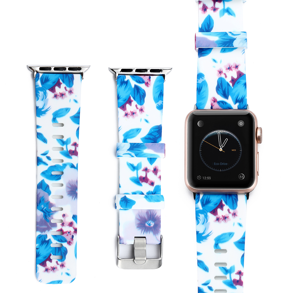 Handodo Water transfer printing Pattern Sport Replacement Wristband Apple Watch Band image12