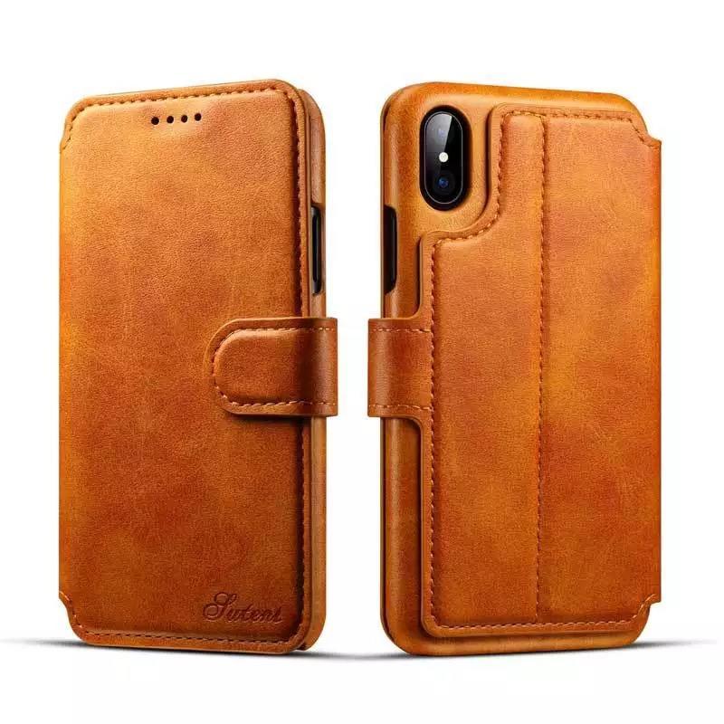 Original Pu Leather Case For Apple Iphone Xs Max Xr Genuine PU OEM Cover