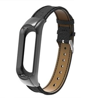 Xiaomi Mi 3 Band Litchi pattern Genuine leather Replacement Bands