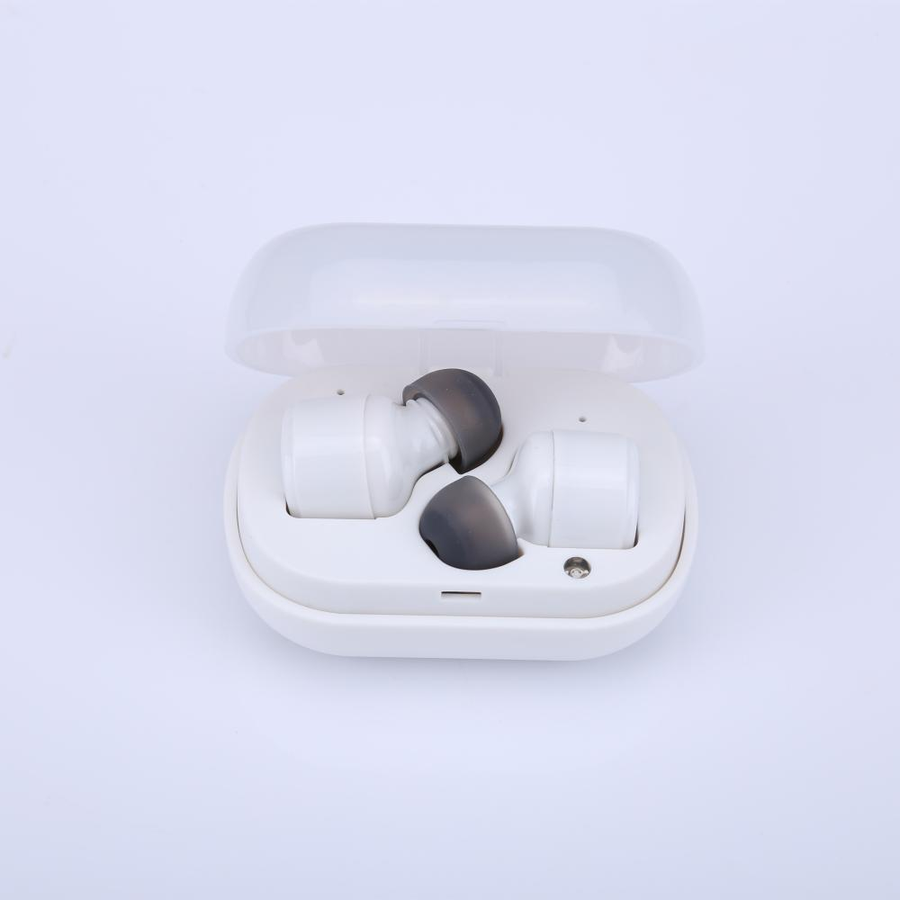 True Wireless Bluetooth 5.0 Ear Plugs Subwoofer Stereo Earbuds Mini Sports In-Ear Headset Invisible Headphones